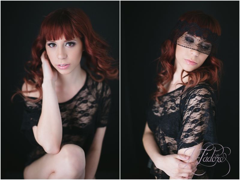 Intimate women's portrait studio in Lubbock Texas