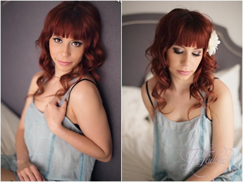 Boudoir session with Hair and makeup artist Jalie Kimbrough