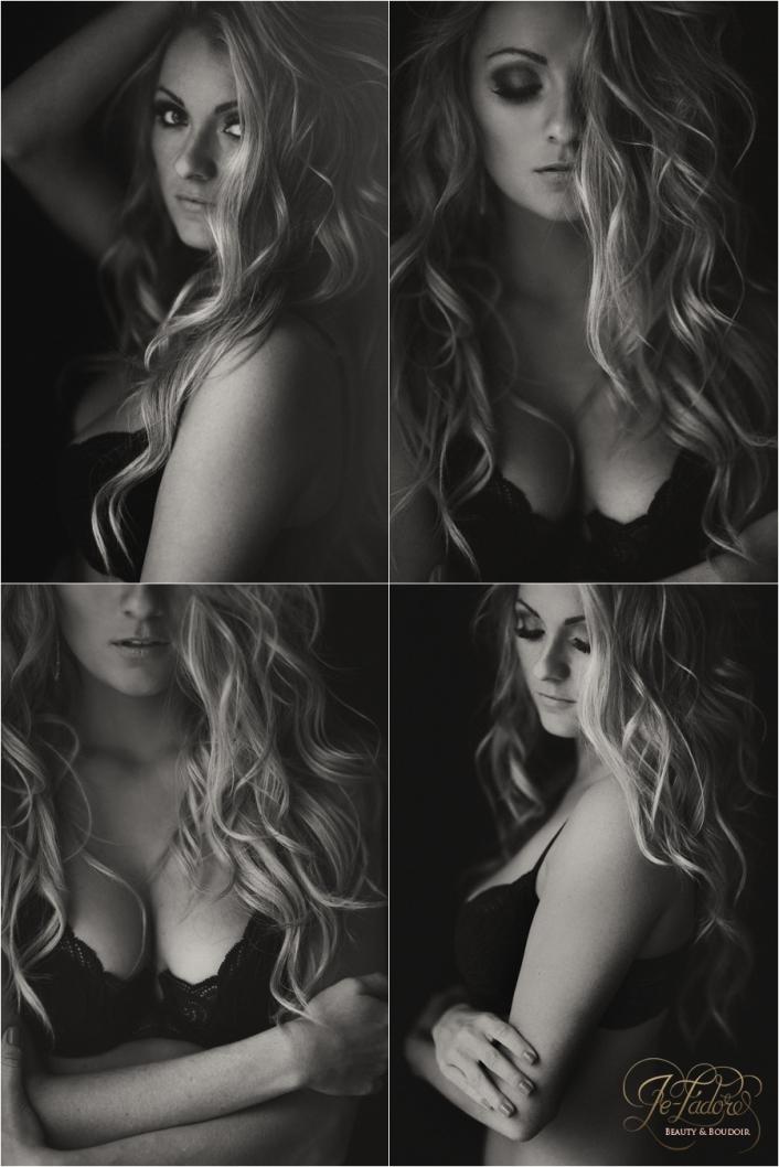 classy black and white boudoir photos lubbock texas