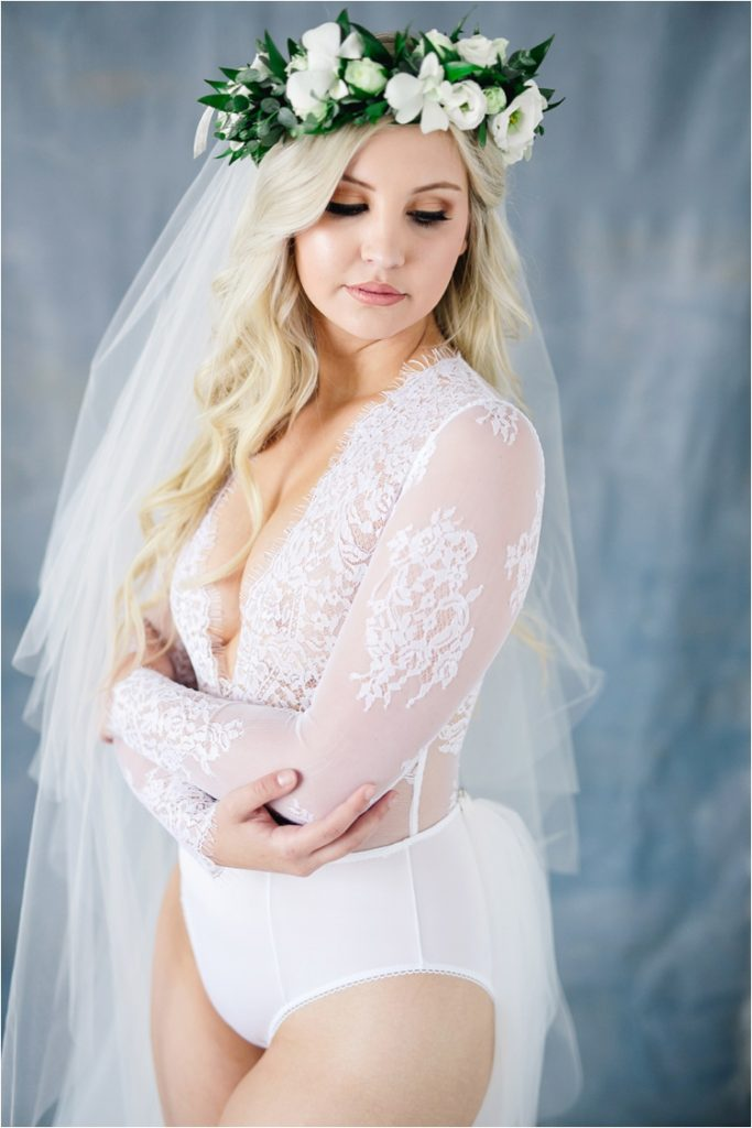 fine art bridal boudoir