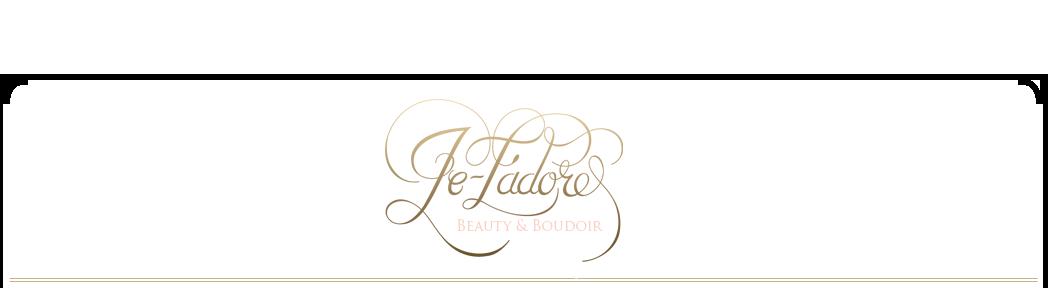 Je-T'adore Boudoir Lubbock Boudoir Photography logo